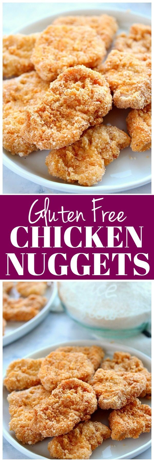 Seriously delicious Gluten Free Chicken Nuggets baked in