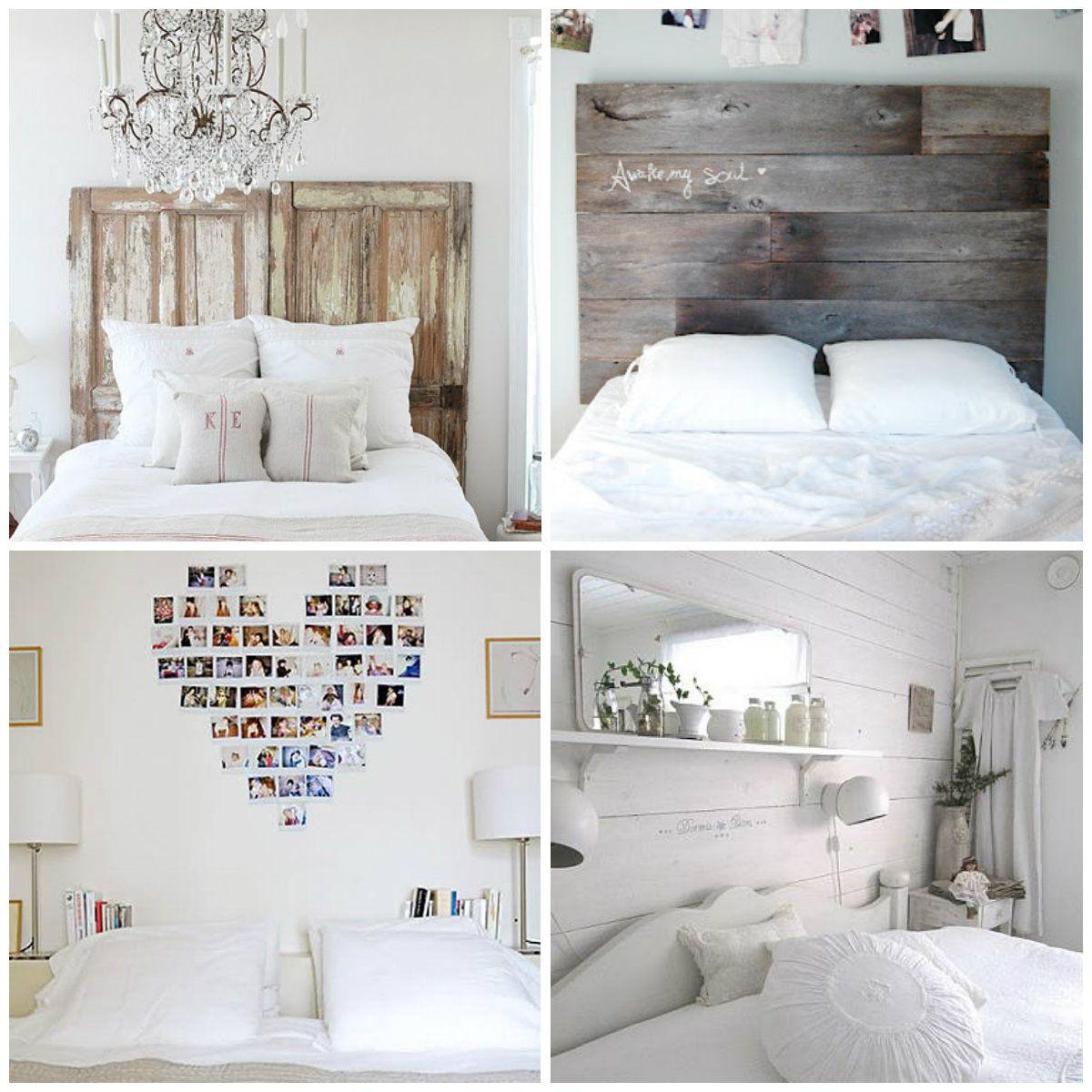 Resultado de imagen de decorar cabecero cama Habitaciones