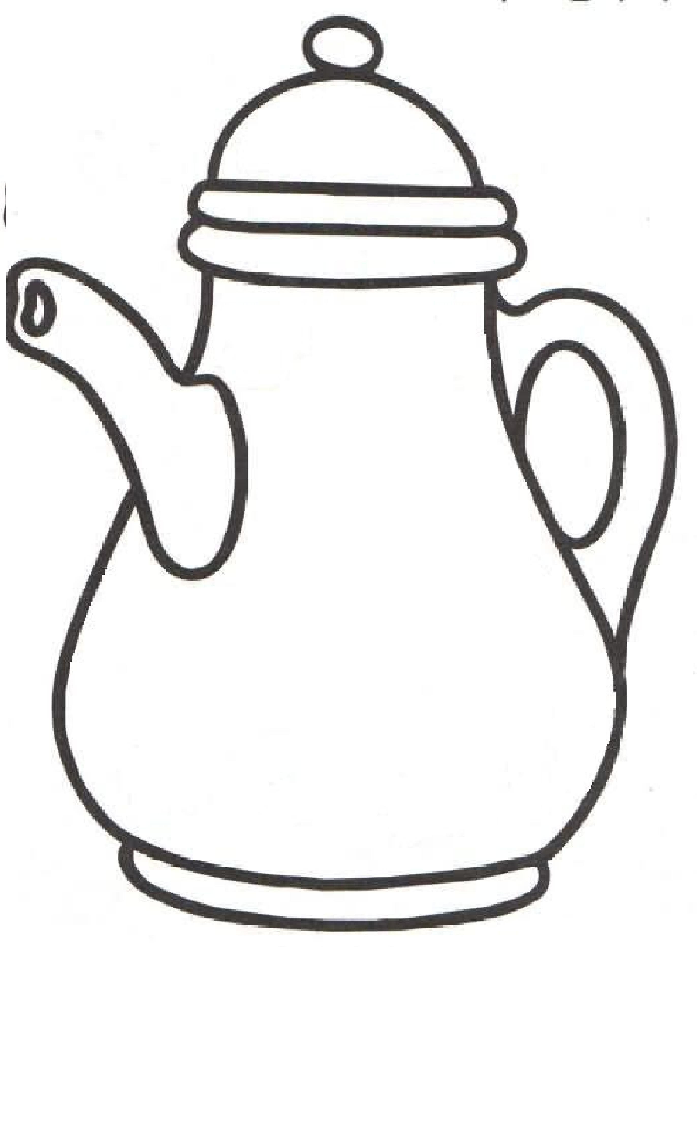 Cafetera Cafetera Patchwork Dibujos