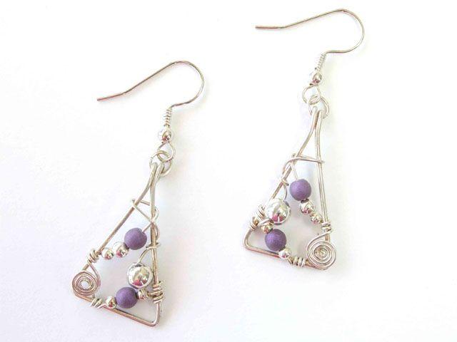 Wire Wrapped Earrings..I like!