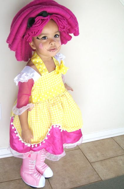 halloween costume lalaloopsy make up easy as 1 2 3