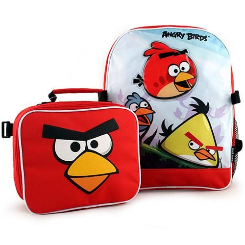 Angry Birds Backpack and Lunch Bag Combo  24.99   › Backpacks For ... 7b6e36e424
