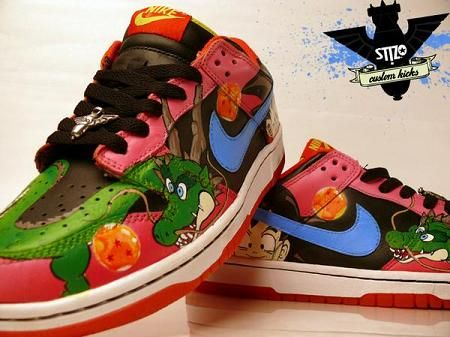 Dragon ball · dragonball z shoes!