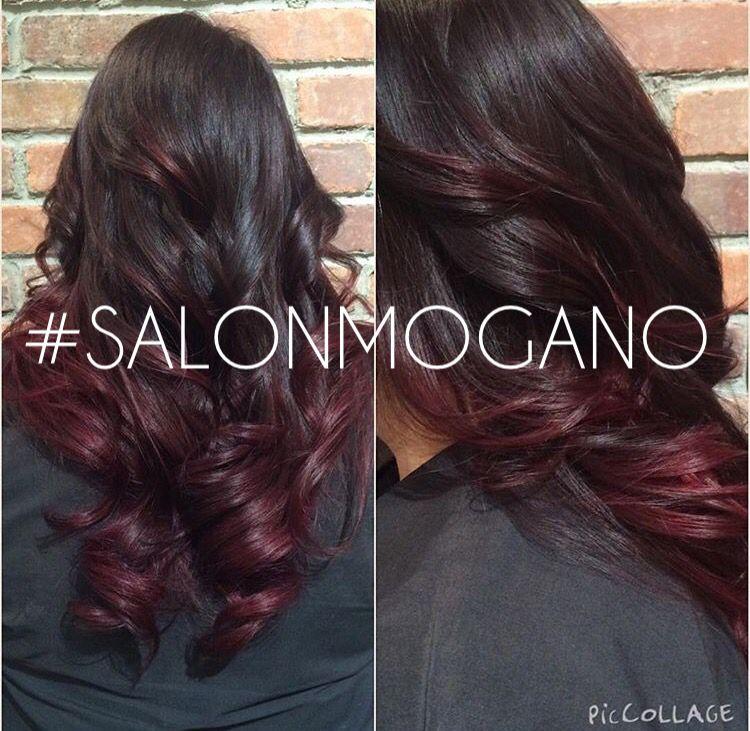 Balayage at Salon Mogano balayage red salonmogano