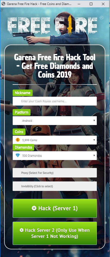 Download Online Generator Tool Free Fire : download, online, generator, Garena, Android, Hacks,, Games,, Games