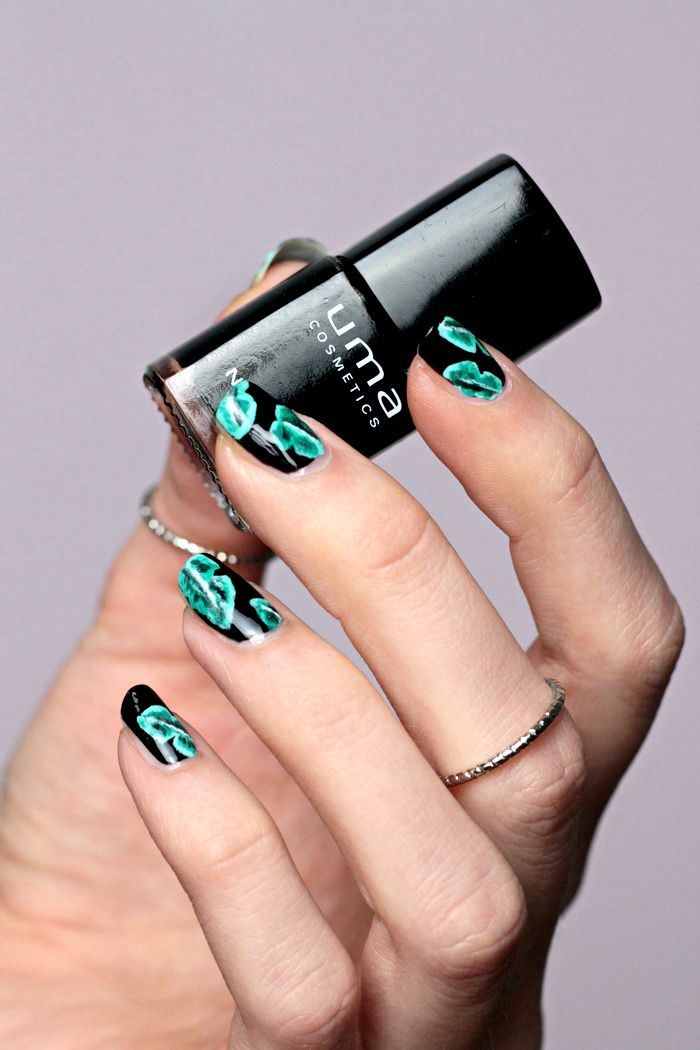 Nailart Palm Leaves