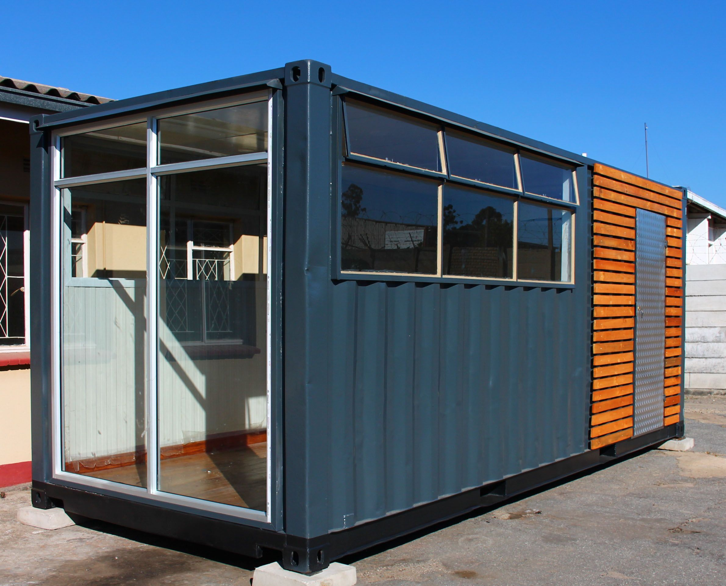 Best Kitchen Gallery: Pin By Smart Building Solutions On Our Container Conversions of Shipping Container Bath on rachelxblog.com