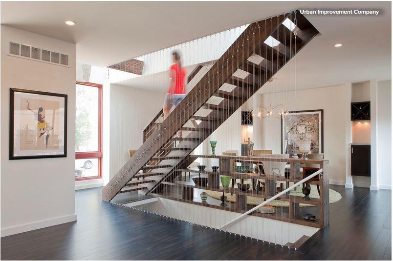 gel nder holztreppe seile google suche architektur treppen pinterest holztreppe. Black Bedroom Furniture Sets. Home Design Ideas
