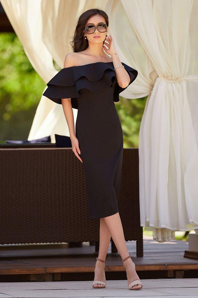 платья черное купить недорого