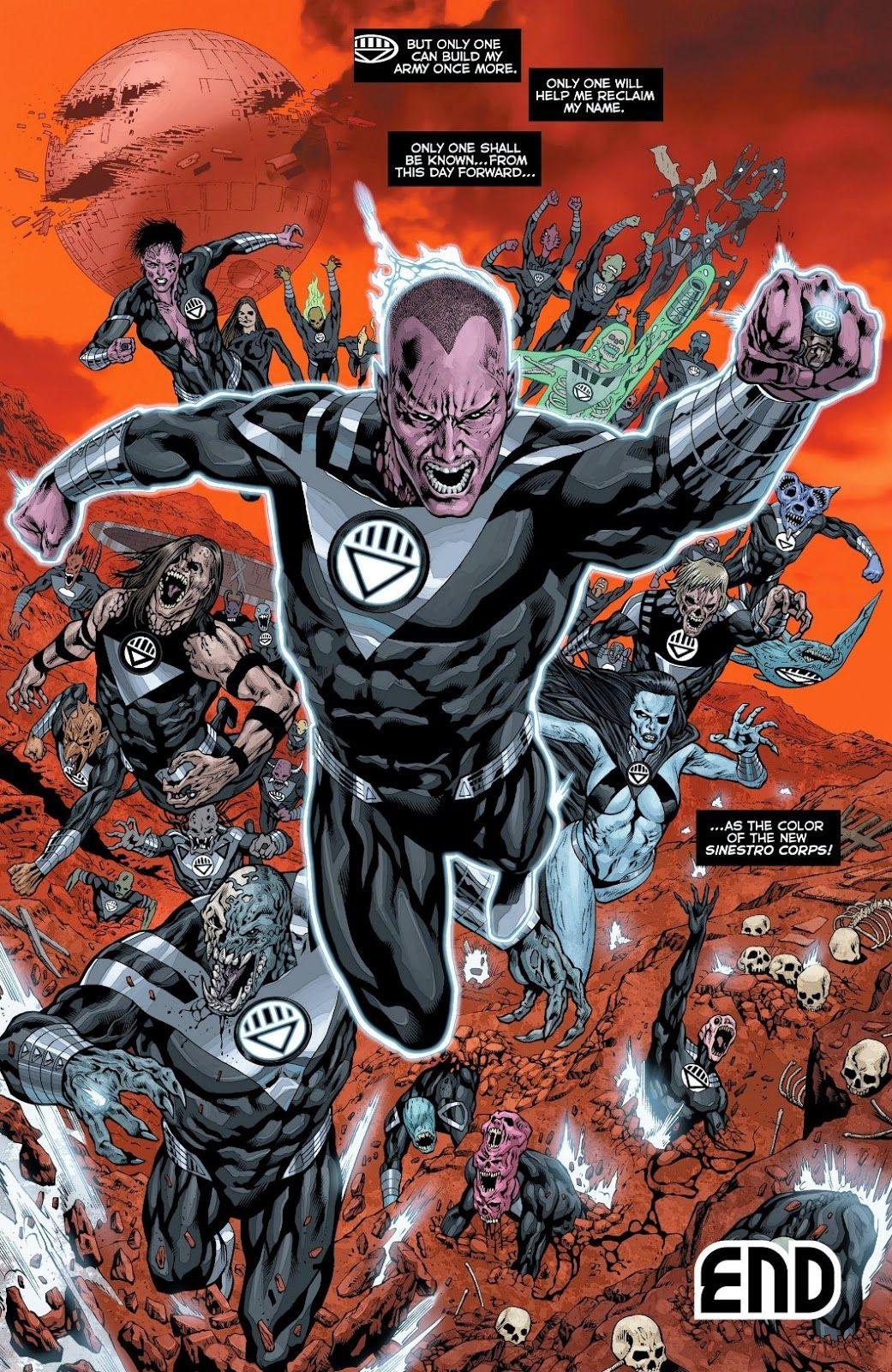 Black Lantern C...