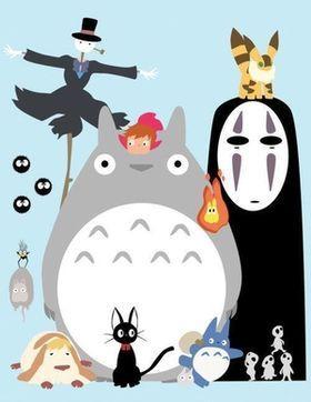 画像 ジブリ大集合イラスト スタジオジブリ作品のキャラクターが集合したイラストのまとめ Naver まとめ Ghibli Art Studio Ghibli Characters Ghibli Movies