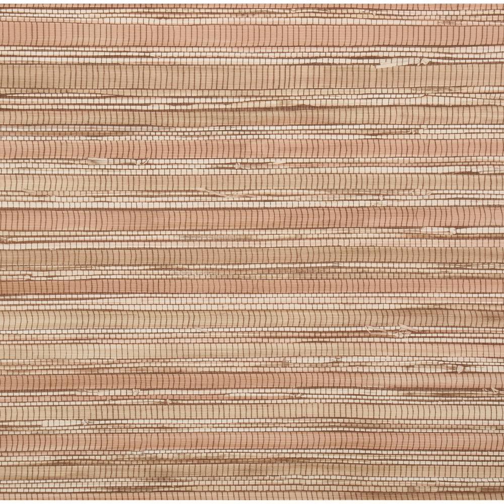 Brewster 56 sq. ft. Faux Grasscloth Wallpaper, Brown