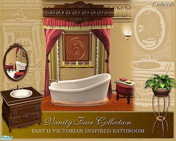 Cashcraftu0027s Vanity Fair Bathroom