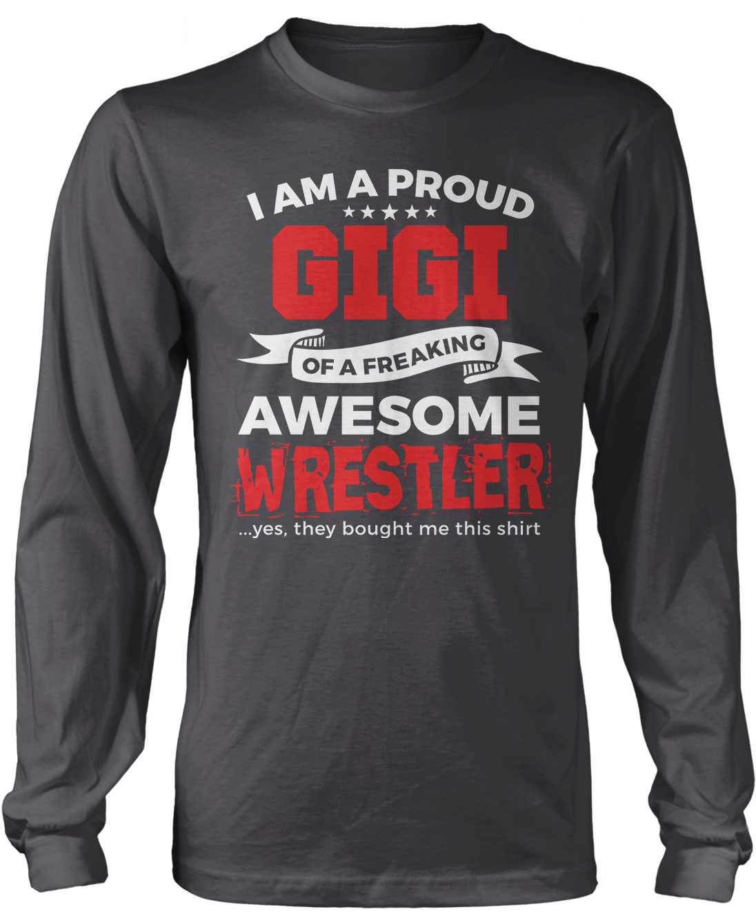 Proud Gigi of An Awesome Wrestler