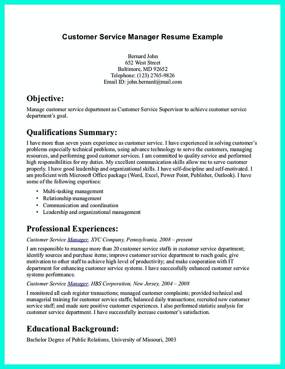 Well Written Csr Resume To Get Applied Soon Resume Objective Statement Examples Resume Objective Statement Resume