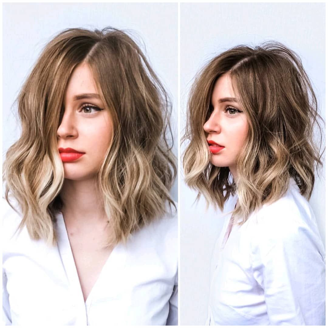 10 Trendy Everyday Shoulder Length Hairstyles - Wo