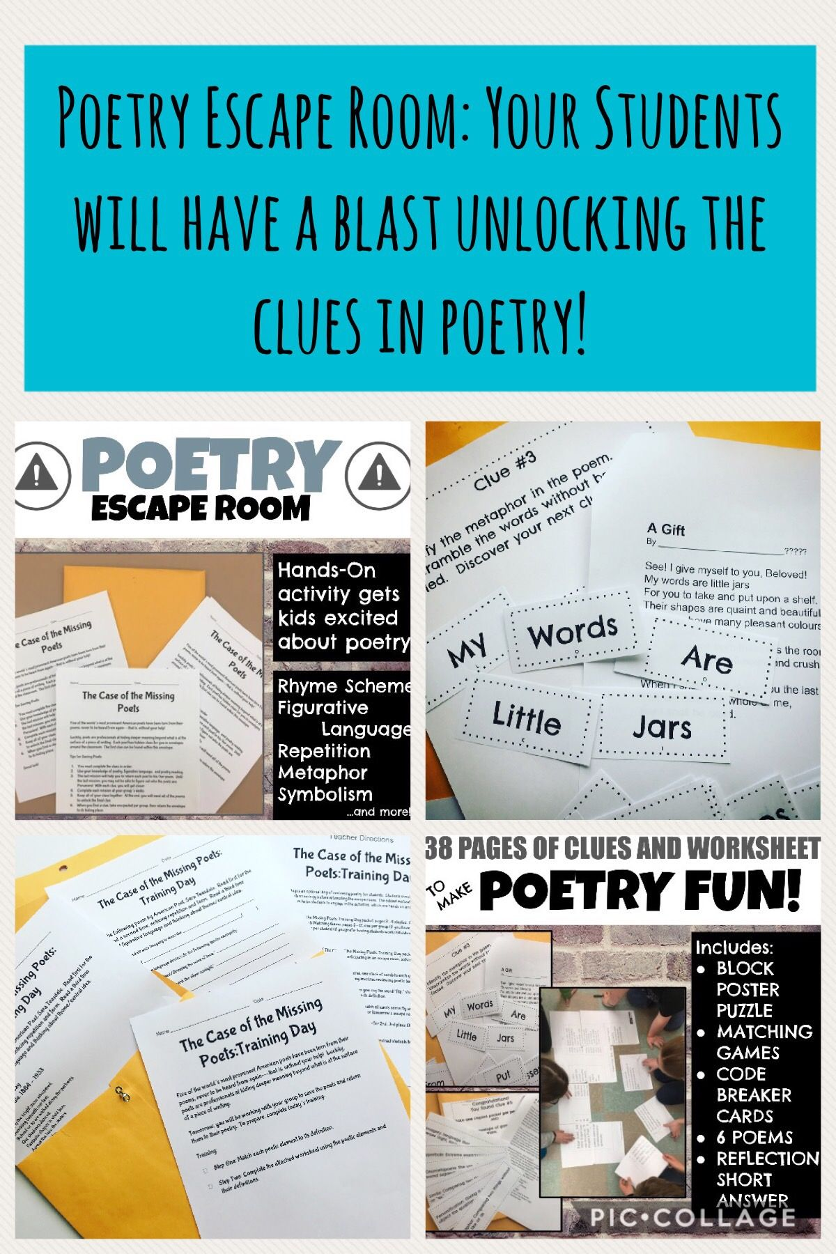 Worksheets Rhyme Scheme Worksheet worksheet rhyme scheme fun study site the only problem with poetry escape room is that your students gifted
