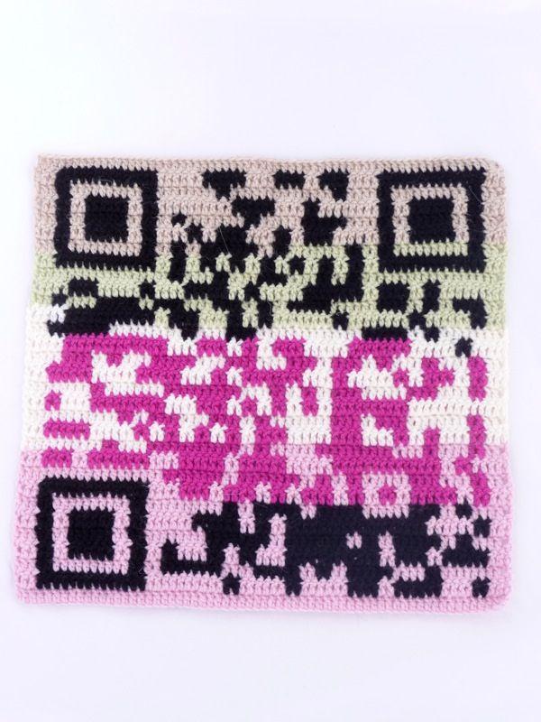 Crochet QR Code Tutorial