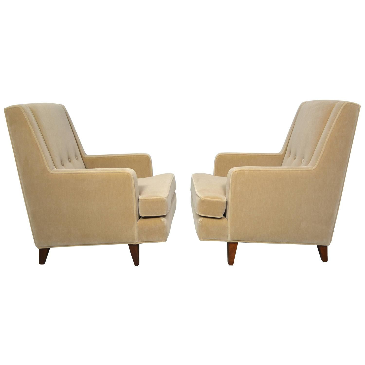Chairs For Tall Man Edward Wormley Pair Of
