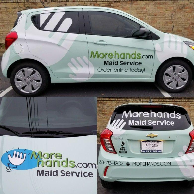 MoreHandsDallas aqua car Maid