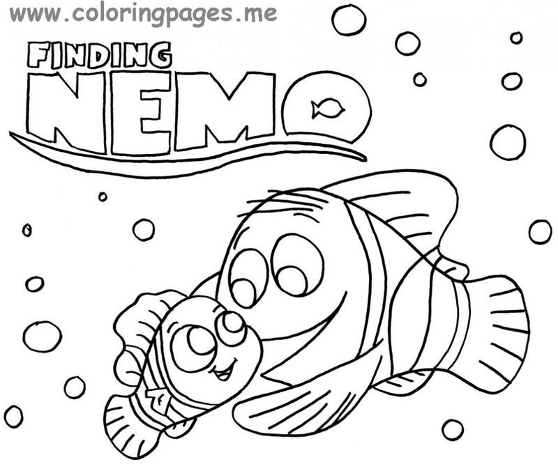 25+ Finding Dory Coloring Pages for Your Children Most