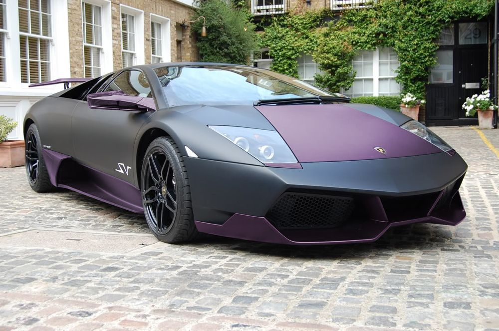 This Matte Black Lamborghini Is Definitely One Of My Dream Cars, Although,  If I I Did Own One, Iu0027d Be Far Too Scared To Drive It!