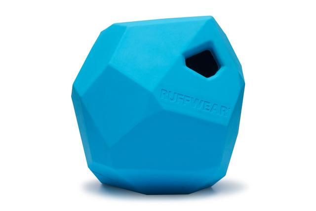 Info's : Gnawt-a-Rock™ Rubber Dog Toy | Interactive Treat Dispensing | Ruffwear