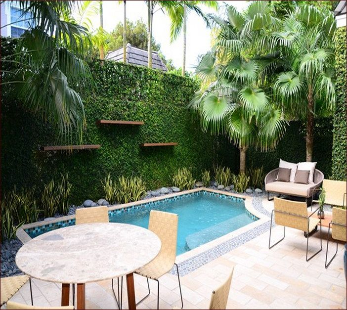 Small Inground Swiming Pool Designs For Small Yards