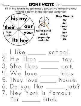 worksheet. Possessive Nouns Worksheets 2nd Grade. Grass Fedjp ...
