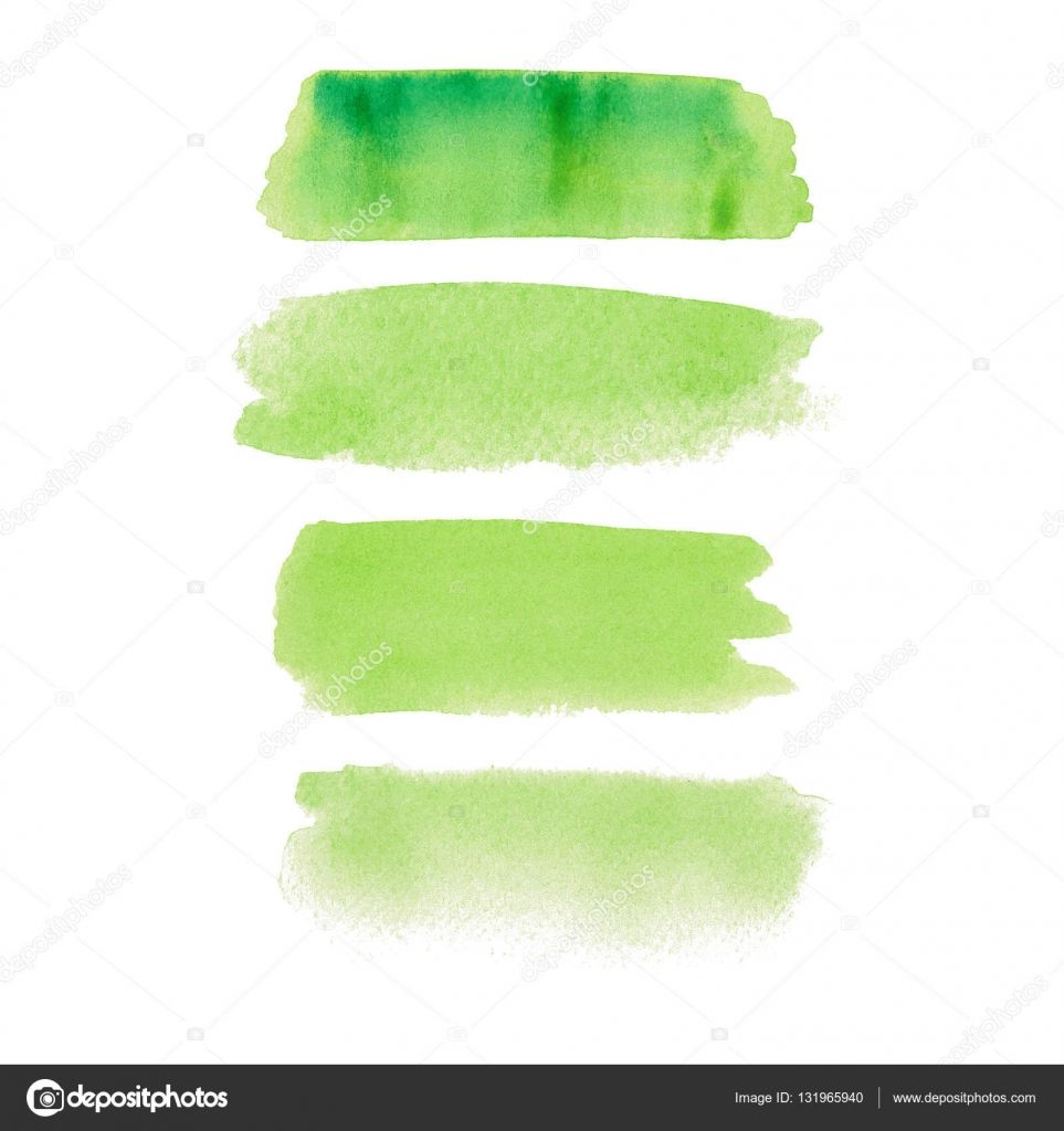 Download Light Green Color Smear Vector Brush Stroke Varnish