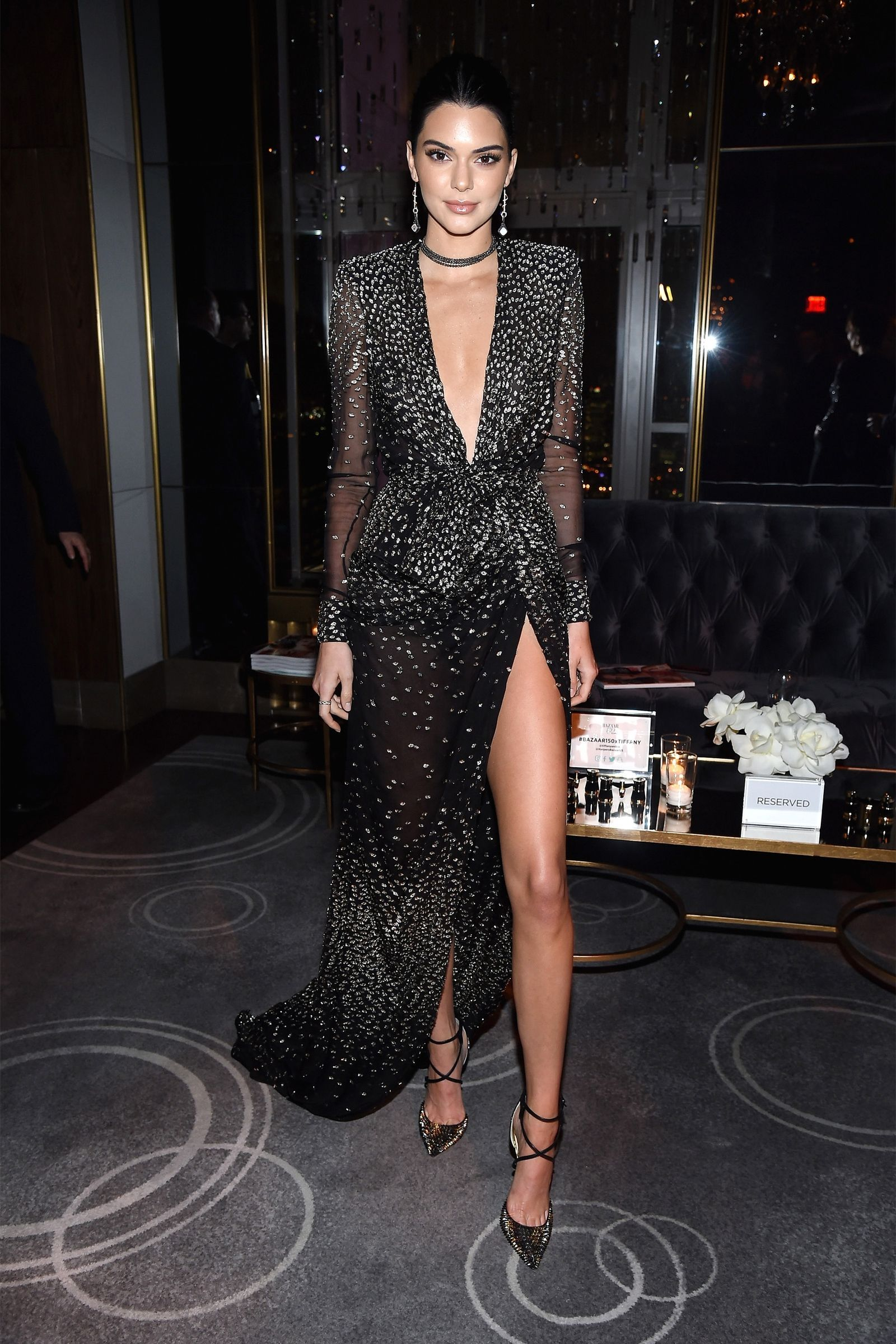 c5769962cae2 April 19, 2017 - HarpersBAZAAR.com Kendall Jenner Outfits, Kendall And  Kylie Jenner