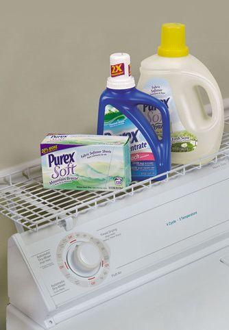 Over Washer Shelf Fits Over Your Washing Machine To Hold
