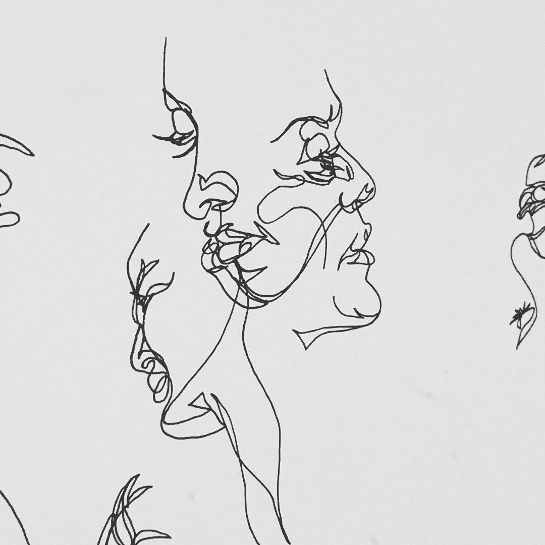 Pin By Fool S Gold On A R T In 2018 Pinterest Blind Contour