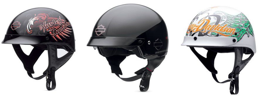 Harley Davidson Motorcycle Helmets For Men And Women In