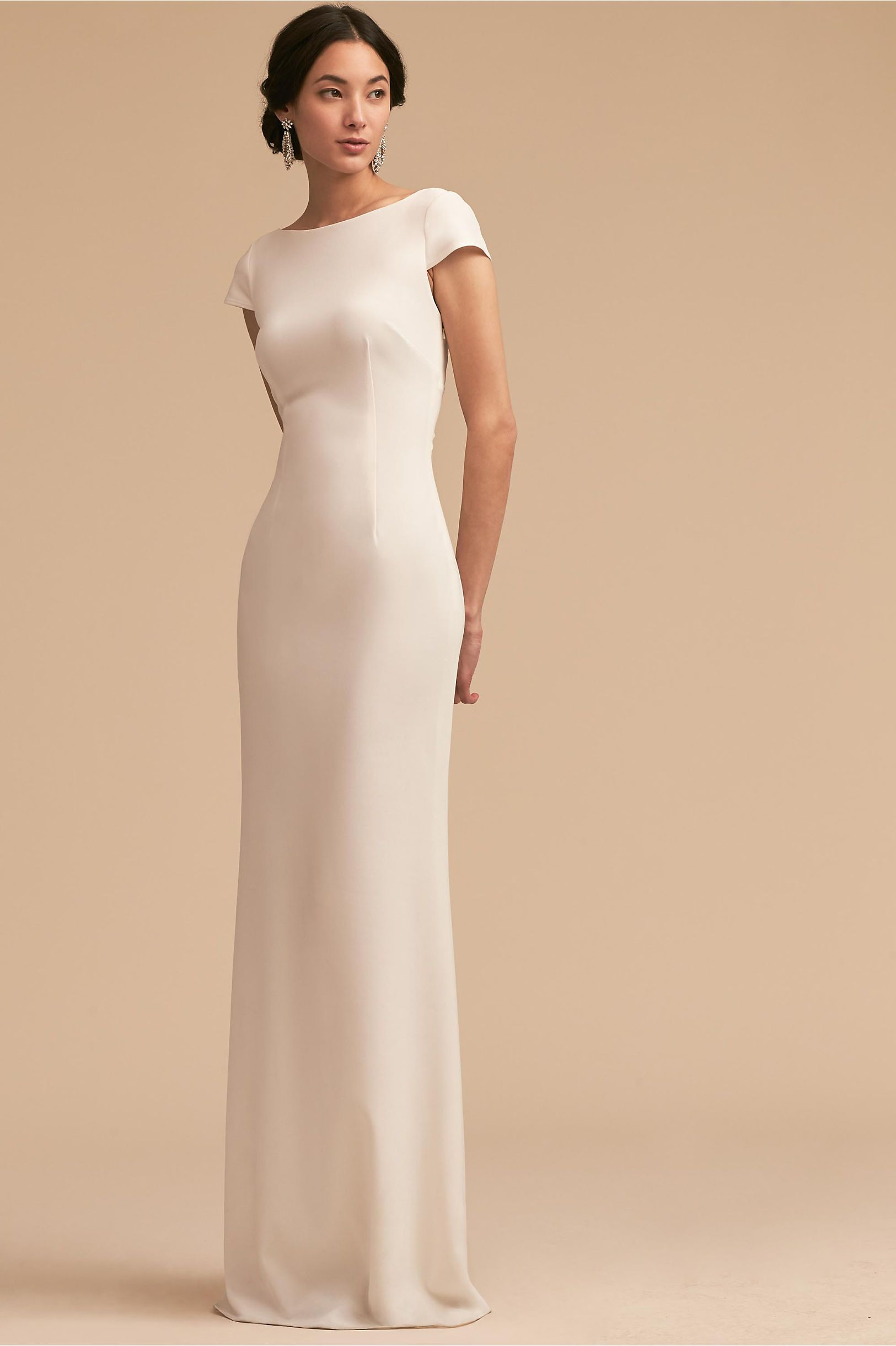 effortless elegance | Sawyer Gown from BHLDN | The Modern Bride ...