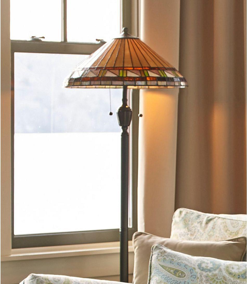 Bradbury art glass floor lamp in 2020 with images