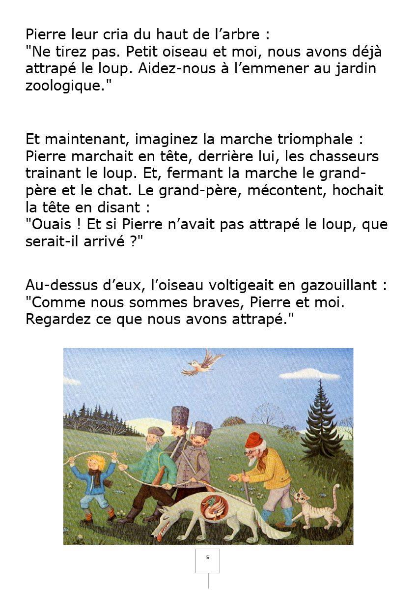 Pierre Et Le Loup Texte : pierre, texte, Pierre, Loup.pdf, Fichiers, Partagés, Acrobat.com, Acrobatics,, Adobe, Acrobat,, Cards