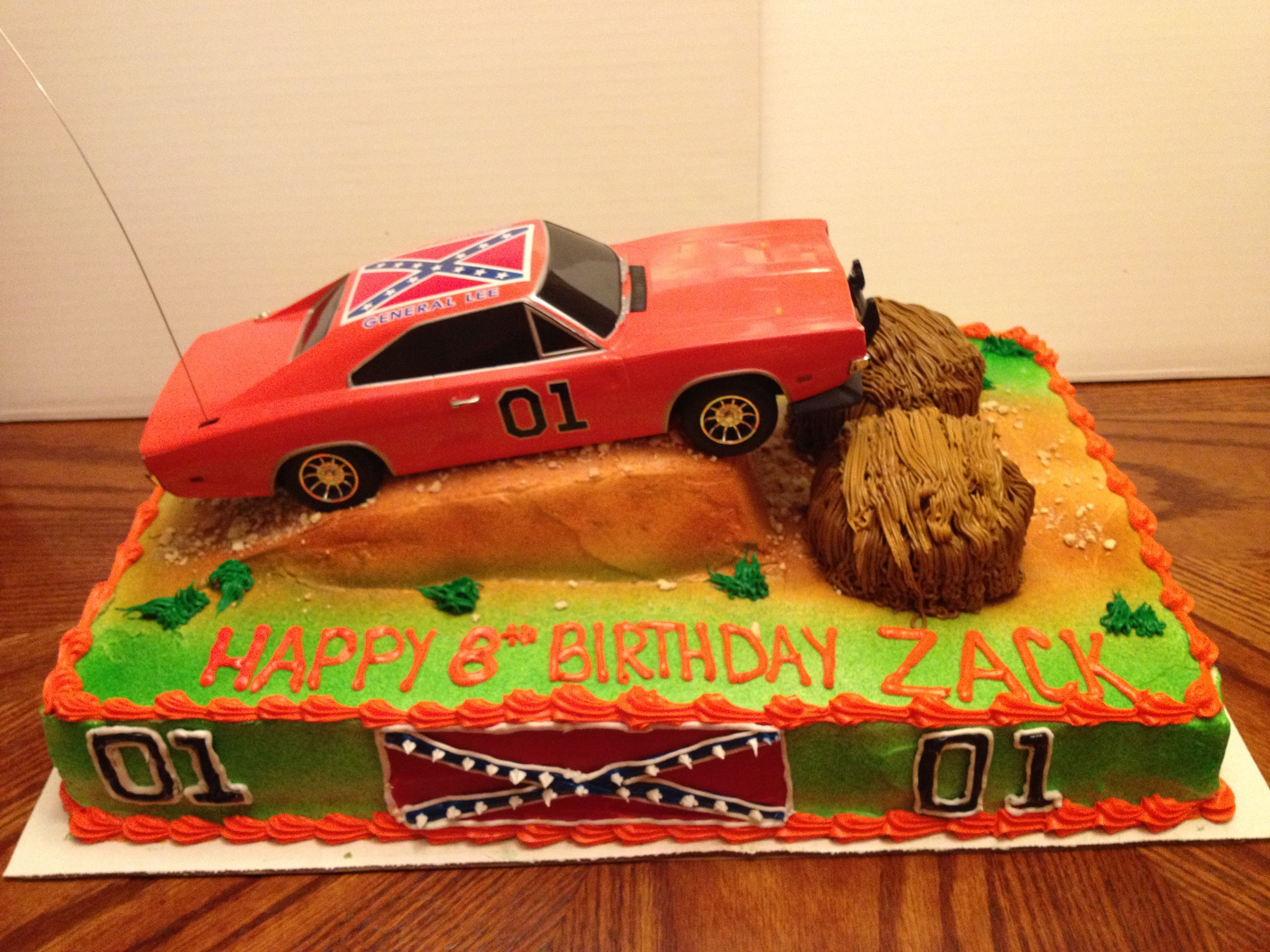Dukes Of Hazzard With Images Boy Birthday Parties Birthday