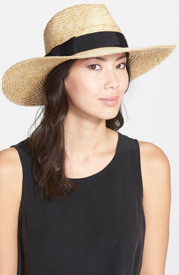 79e8460b17 Main Image - Brixton 'Joanna' Straw Hat   Summer stuff   Hats for ...