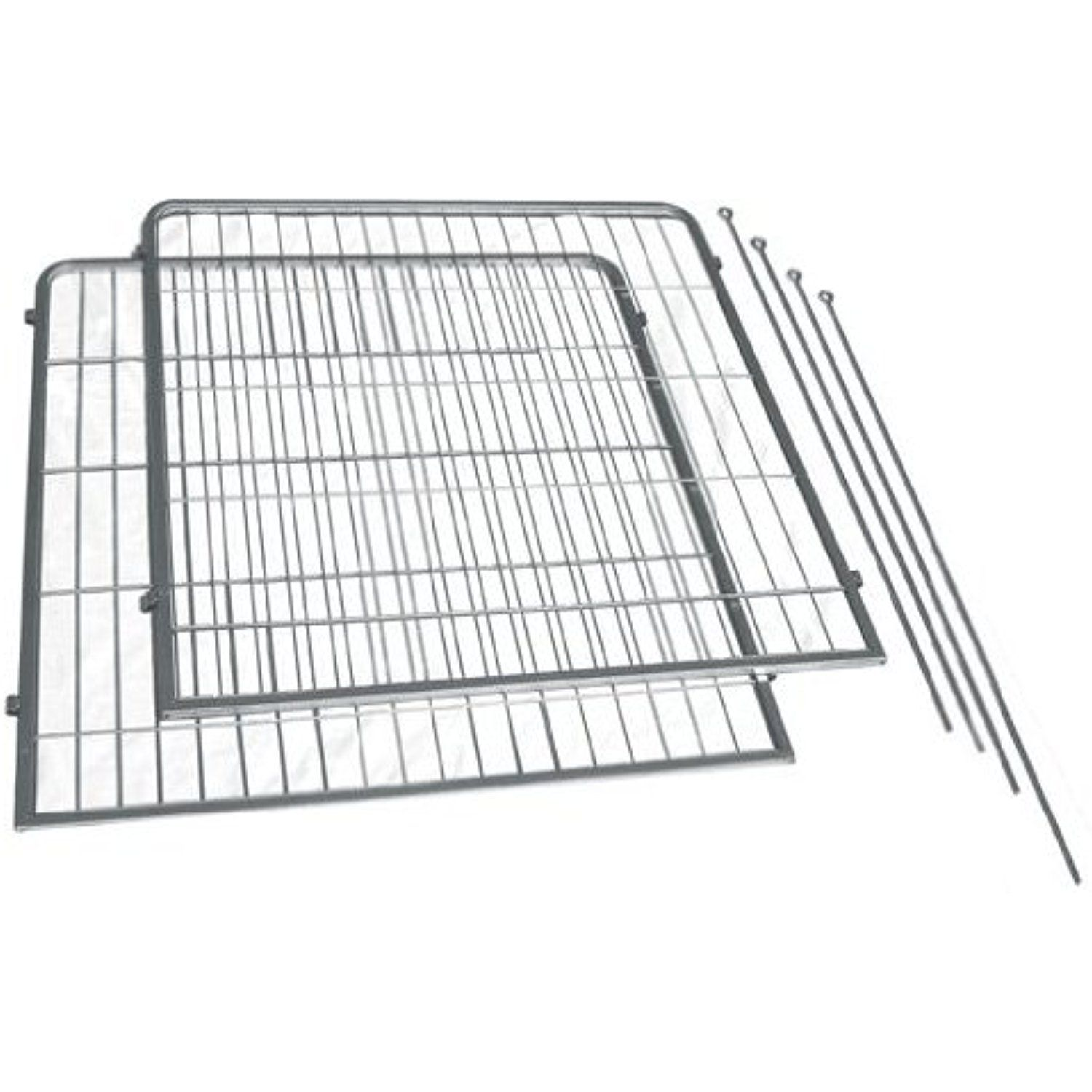Precision Pet 2Pack Courtyard Kennel AddAPanel with