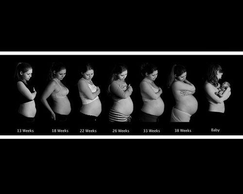 Embarazo a tres meses barriga de los