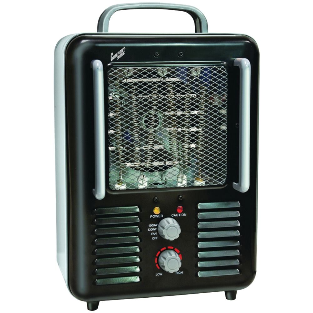3029 Free Shipping Comfort Zone Deluxe Milkhouse Heater And Fan Why Does My Electric Space Keep Tripping Circuit Breaker Ra34281
