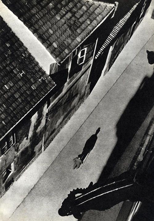 Josef Sudek - Vikářská ulička, kolem 1935 From The Book: Prazsky Chodec Photography by Josef Sudek