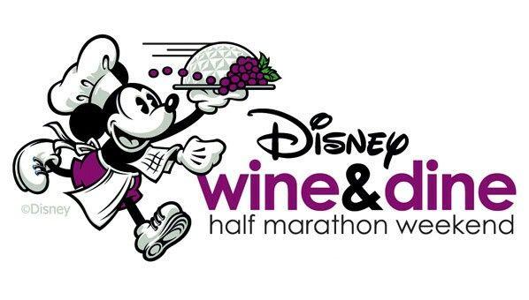 Disney Wine & Dine Half Marathon Weekend Logo.