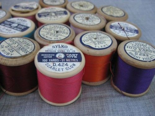 A selection of beautiful vintage threads