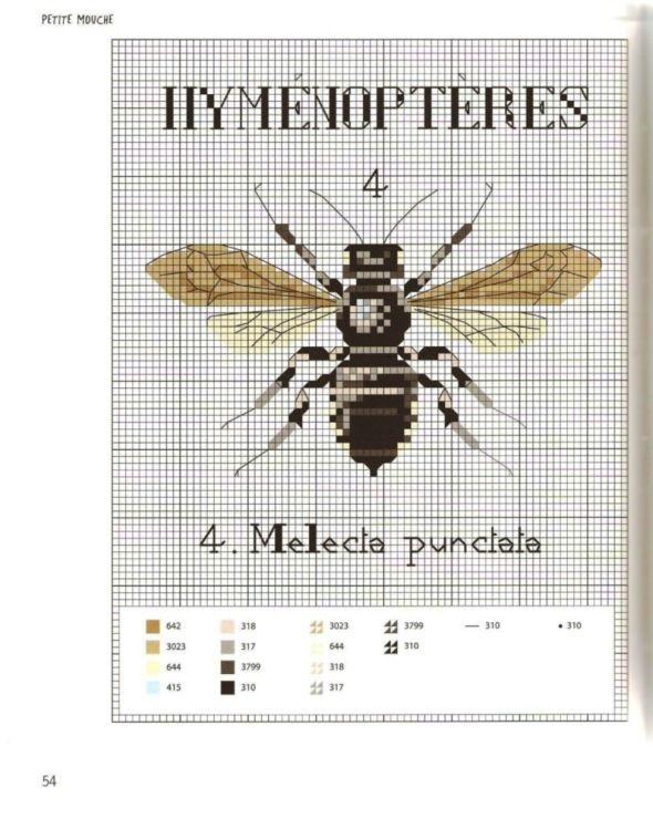 Gallery.ru / Фото #60 - MARABOUT Insects - tatasha | cross stitch ...