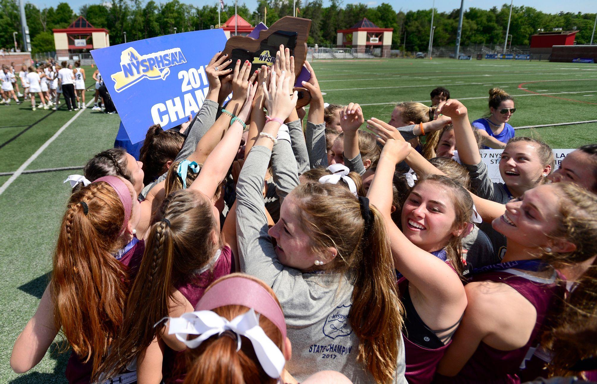 State Class B Girls Lacrosse Final Garden City Vs Fayetteville
