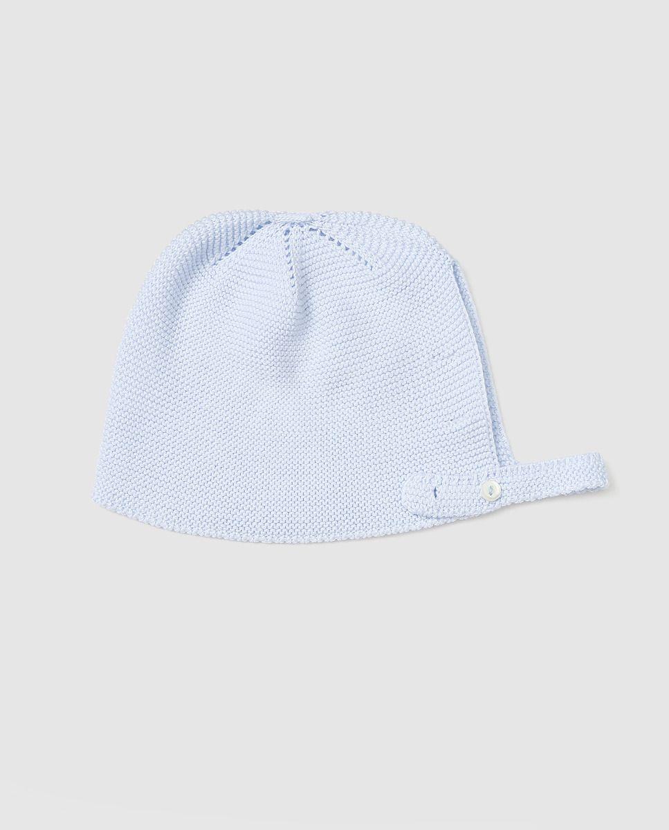 Capota de bebé niño Dulces de tricot azul · Dulces · Moda · El Corte Inglés 9658ac3894e