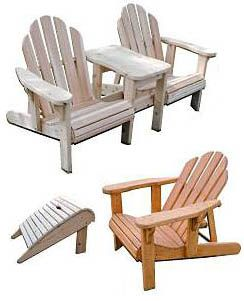 making your own adirondack chairs | Classic relaxation in these great Adirondack chairs. Make ...
