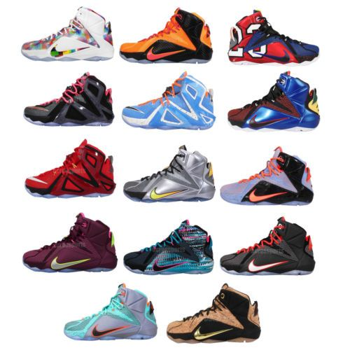 81beb554a0a0 Nike Lebron XII 12   Elite   EXT Lebron James Mens Basketball Shoes ...